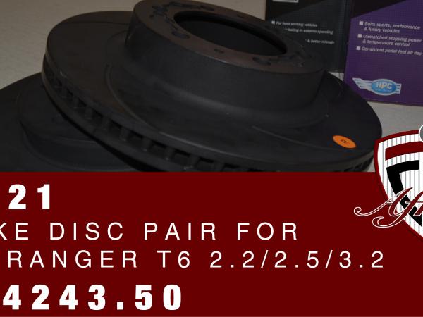 Ford Ranger Brake Disc Pair @ only N$ 4243.50