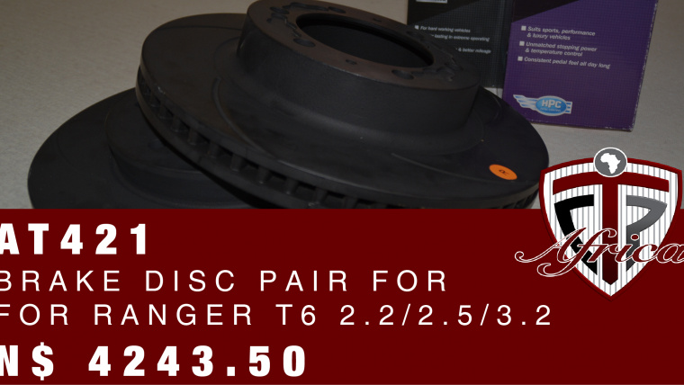 Ford Ranger Brake Disc Pair @ only N$ 4243.50